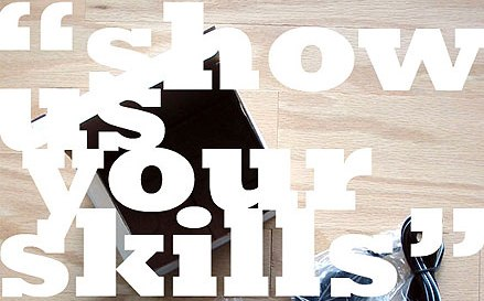 show us your skills Useful guide when creating your own Online Portfolio