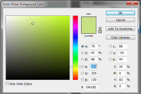 colors for button in photoshop - Sanjay Khemlani