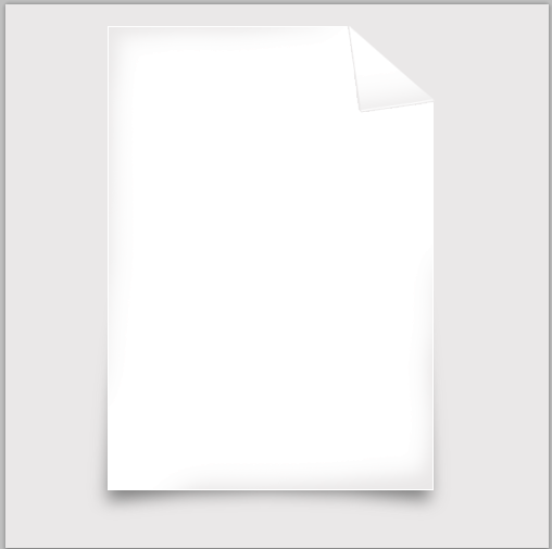 12 paper model How to Create Your Own File Icon in Photoshop