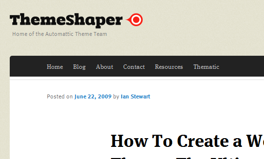 themeshaper.com 2011 8 19 21 24 31 10 Best Wordpress Theming Tutorials