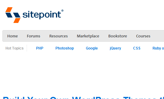 www.sitepoint.com 2011 8 19 22 11 0 10 Best Wordpress Theming Tutorials