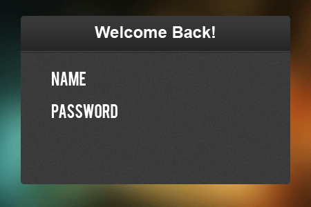 10 added some text How to Create a Login Screen in Photoshop