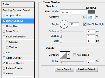 12 innershadow for input fields How to Create a Login Screen in Photoshop