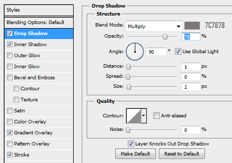 17 drop shadow for yes button How to Create Modal Window in Photoshop