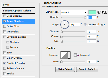 19 innershadow How to Create a Login Screen in Photoshop