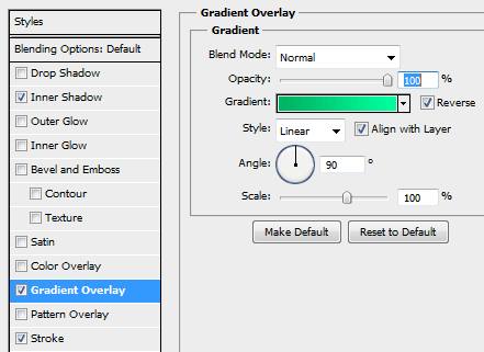 21 gradient settings for button How to Create a Login Screen in Photoshop