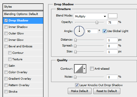 30 drop shadow for button How to Create Dark Web Design in Photoshop