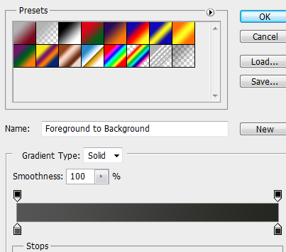 36 gradient for footer How to Create Dark Web Design in Photoshop