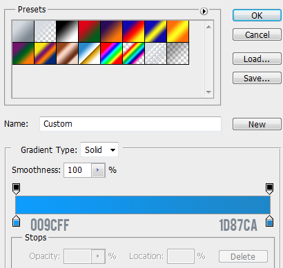 4 gradient for normal button How to Create Mini Web UI Buttons in Photoshop