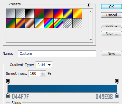 7 stroke gradient for normal button How to Create Mini Web UI Buttons in Photoshop