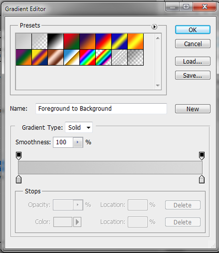 8 gradient for button background How to Create Sleek Button Design in Photoshop