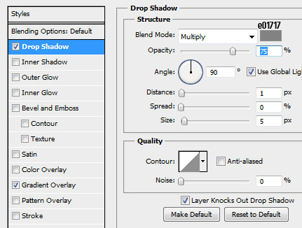 11 header dropshadow How to Create a Calendar in Photoshop