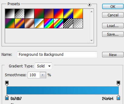13 header gradient How to Create a Calendar in Photoshop