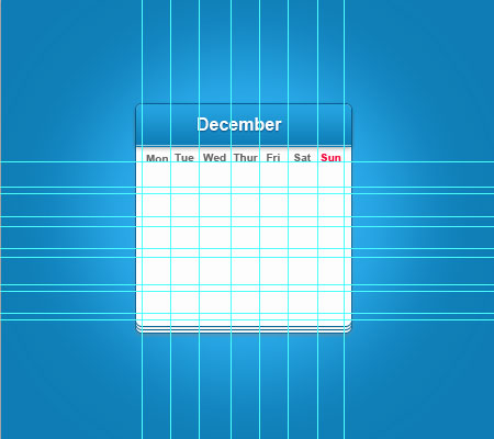 19 calendar lines How to Create a Calendar in Photoshop