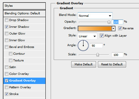 23 calendar background gradient settings How to Create a Calendar in Photoshop