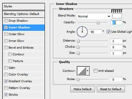 24 calendar background innershadow How to Create a Calendar in Photoshop