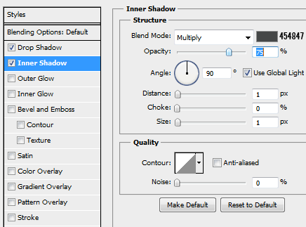 4 innershadow for progressbar How to Create a Minimal Progress Bar UI Photoshop