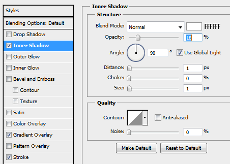 9 innershadow progressbar How to Create a Minimal Progress Bar UI Photoshop