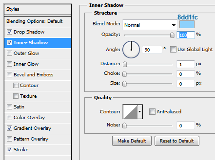 11 slider ticker innershadow How to Create Slider Tooltip in Photoshop