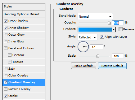 13 slider ticker gradientsettings How to Create Slider Tooltip in Photoshop