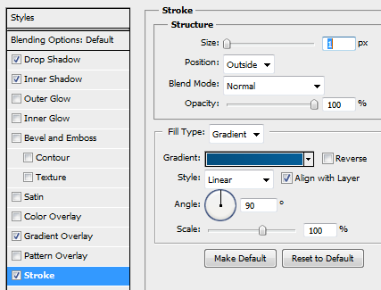 15 slider ticker strokesettigns How to Create Slider Tooltip in Photoshop