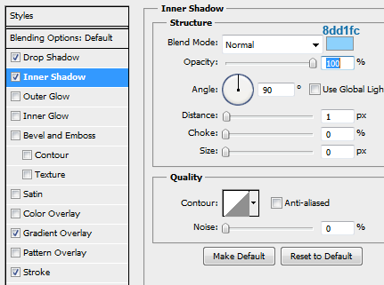 20 slider tooltip innershadow How to Create Slider Tooltip in Photoshop