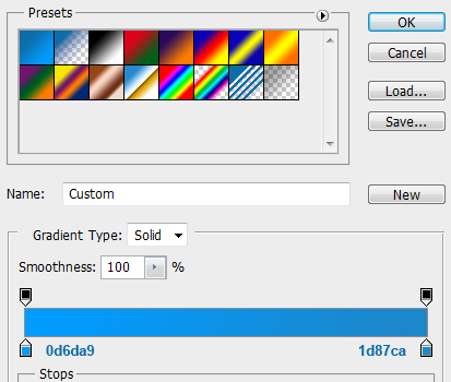 21 slider tooltip gradientcolors How to Create Slider Tooltip in Photoshop