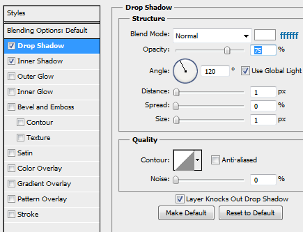 6 slider small dropshadow How to Create Slider Tooltip in Photoshop