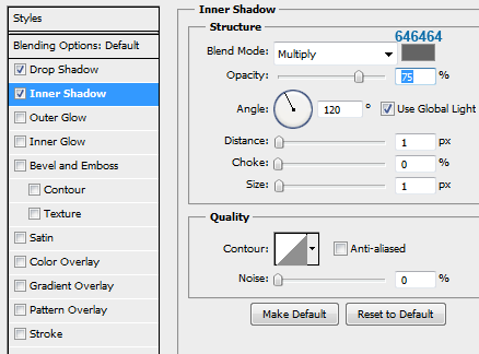 7 slider small innershadow How to Create Slider Tooltip in Photoshop