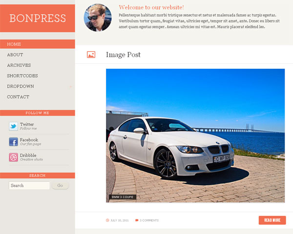 bonpress Collection of Free Responsive Wordpress Themes