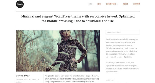 wp responsive theme 11 Collection of Free Responsive Wordpress Themes