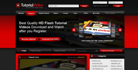 01 Homepage.  large preview 550x279 18 Free and Premium Wordpress Video Themes
