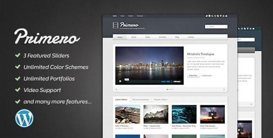 1320 550x279 18 Free and Premium Wordpress Video Themes