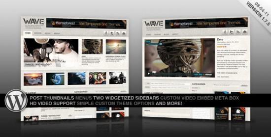 1419 550x279 18 Free and Premium Wordpress Video Themes