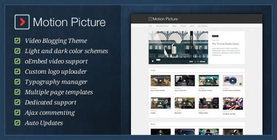 1519 550x279 18 Free and Premium Wordpress Video Themes
