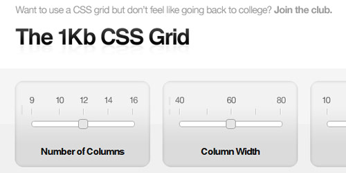 1kb css grid Collection of CSS3 Generators and Tools