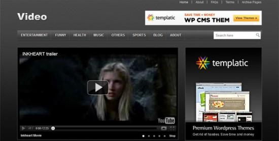 334 550x279 18 Free and Premium Wordpress Video Themes