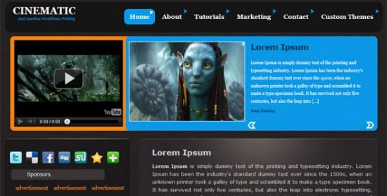 422 550x279 18 Free and Premium Wordpress Video Themes