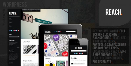521 550x279 18 Free and Premium Wordpress Video Themes