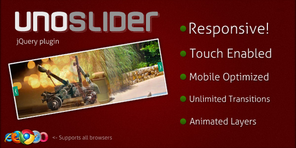 9121 Responsive Image Slider Plugin for Wordpress