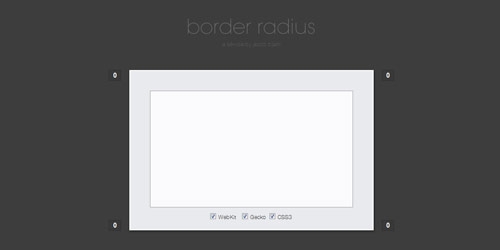 css border radius Collection of CSS3 Generators and Tools