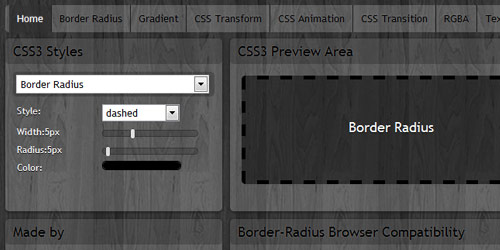 css3 maker Collection of CSS3 Generators and Tools