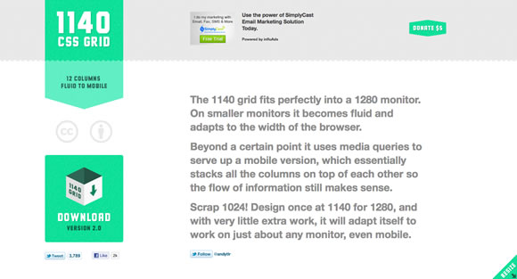 responsive07 Collection of Responsive Web Design Frameworks