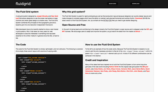 responsive10 Collection of Responsive Web Design Frameworks