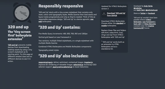 responsive11 Collection of Responsive Web Design Frameworks