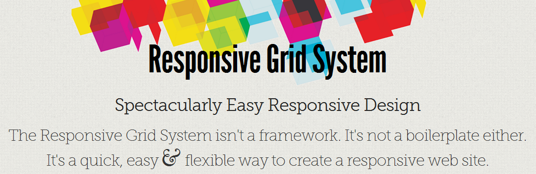 www.responsivegridsystem.com  Collection of Responsive Web Design Frameworks